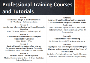 professional training courses and tutorials